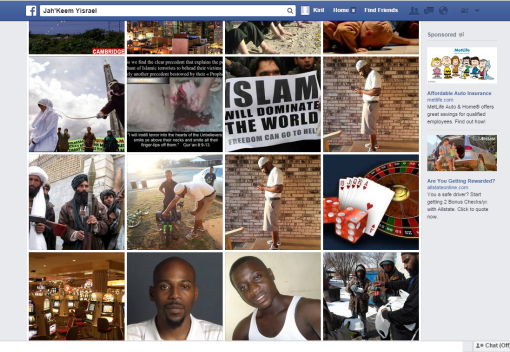 Facebook, Album, Jah'Keem Yisrael