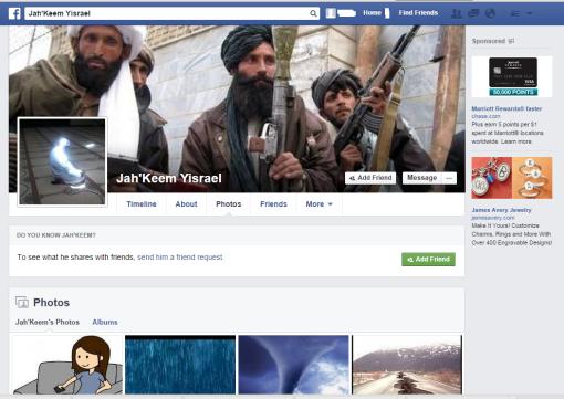 Facebook-Jah'Keem Yisrael